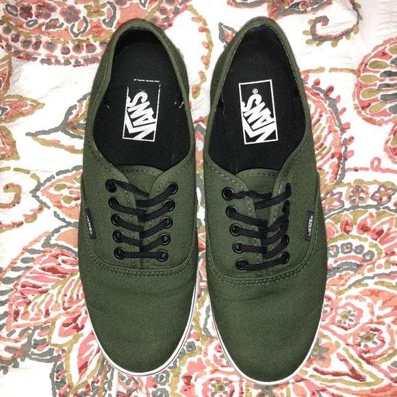 380ca3d074b132 Army green vans authentic lo pro. M 5b8354fb04ef50b43bf7afe4